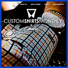 Custom Shirts Monthly by Blue Lynx Design